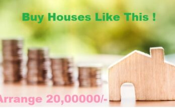 How to Manage Twenty lakhs for Buying a 1BHK flat in India