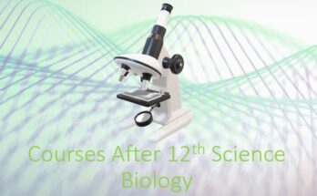 Courses after 12th Science Biology