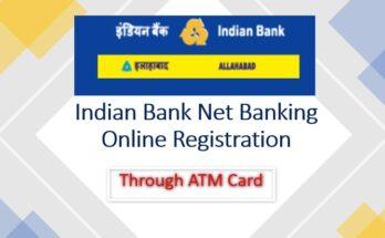 Indian bank Net banking Online Registration