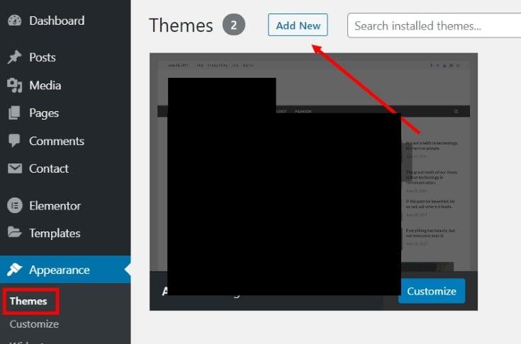 Make a Blog in WordPress