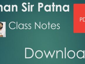 Khan sir Patna class notes PDF