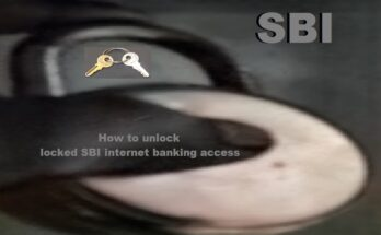 How to unlock locked SBI internet banking access