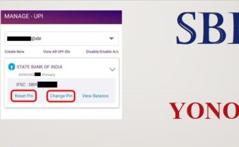 How can I change my SBI UPI PIN without Debit card