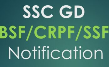 SSC GD Constable 2021 notification in 1st week of May 2021
