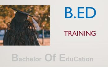 BEd Online Training Course University