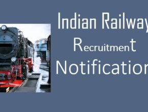 Indian railway recruitment notification for 10th pass candidates