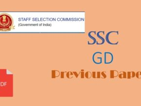 SSC GD Previous Year Question Papers