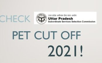 How To Check UPSSSC PET Cut Off