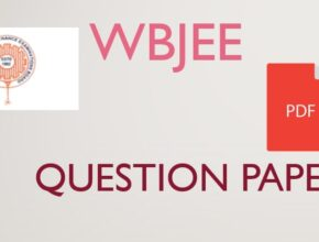 WBJEE Previous Year Question Papers