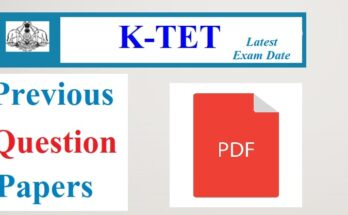 KTET Previous Question Papers