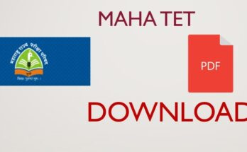 Maha TET Previous Question Papers