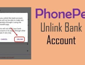 How To Remove PhonePe Bank Account