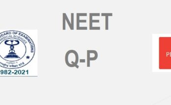 NEET Previous Year Question Papers